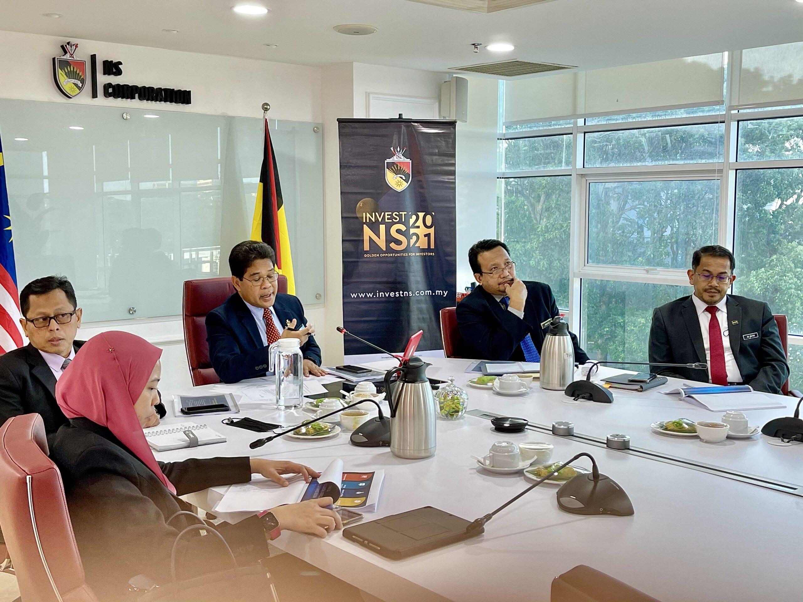 Negeri Sembilan Virtual Investment Promotion Mission to Spain